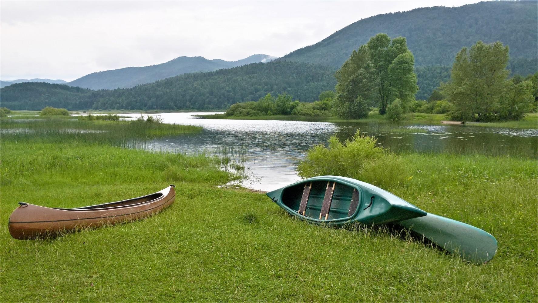 Cerkniško jezero, eno največjih presihajočih jezer v Evropi.