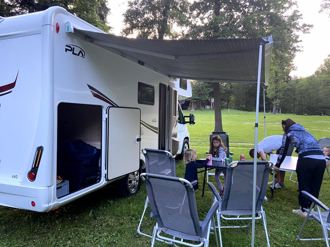 Električna tenda avtodoma Hiša na kolesih